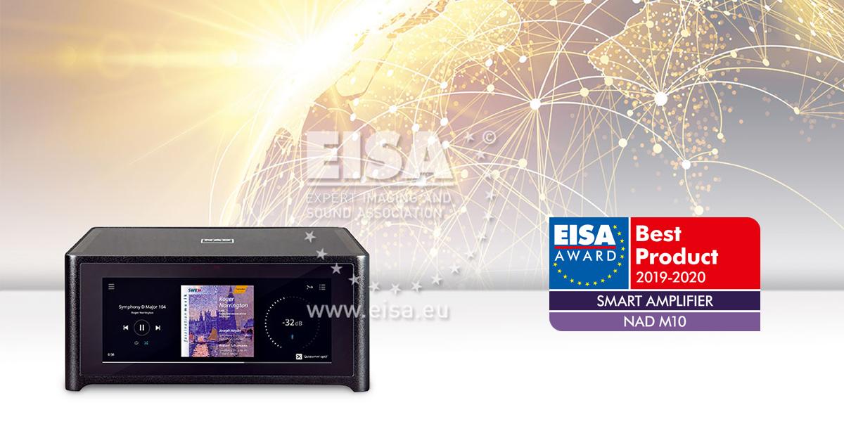 NAD M10 AMPLIFICADOR SMART EISA 2019-2020